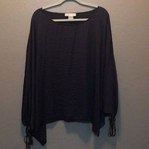MK Blouse, only wore it once! Color is Navy